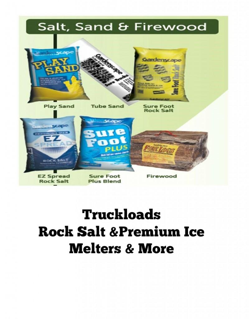 wholesale rock salt-truck loads