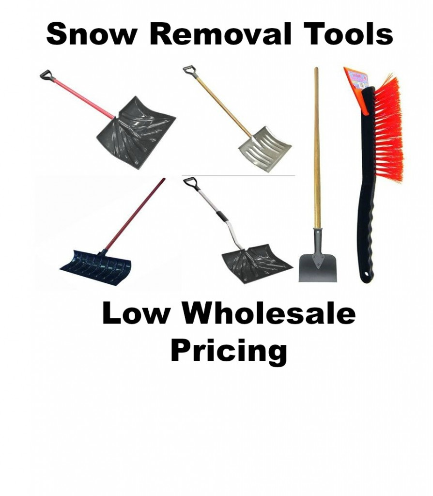 wholesale snow shovels and snow brushes