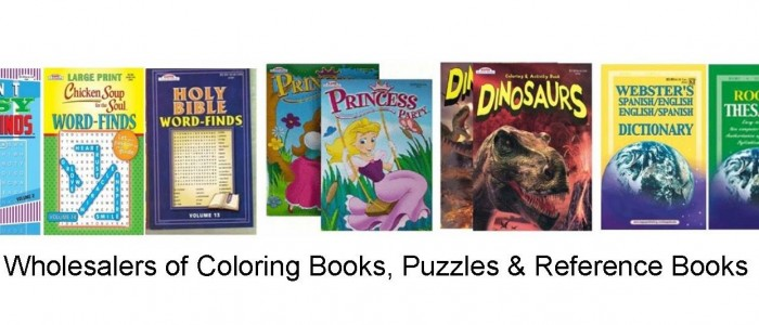 wholesaler of coloring books