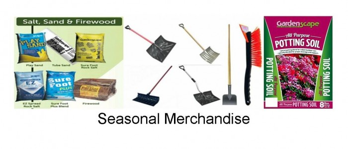 wholesaler of seasonal merchandise