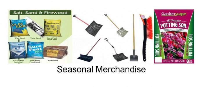 wholesaler of seasonal merchandise