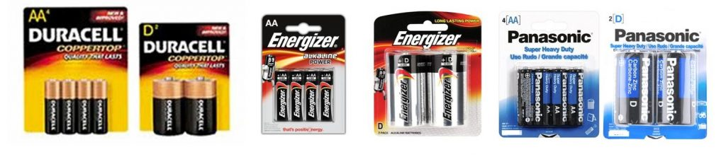 wholesale brand name batteries